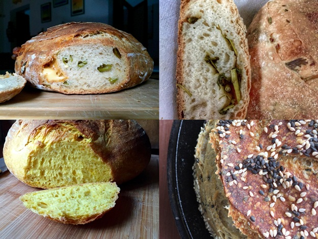 Green Chilli and Cheddar Sourdough-tile