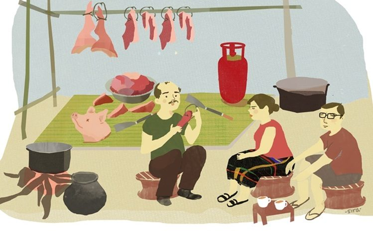 How I bought 250 kg of pork and married the woman Iloved