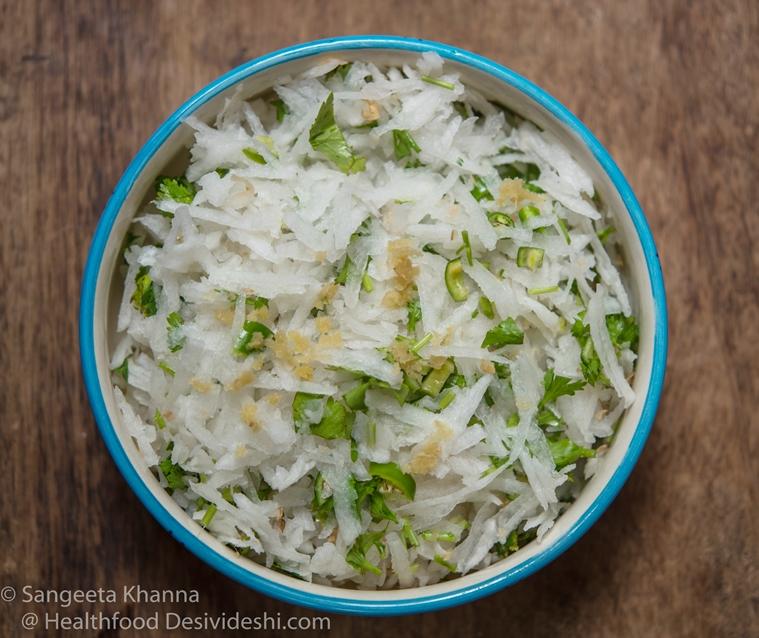Radish salad - kas