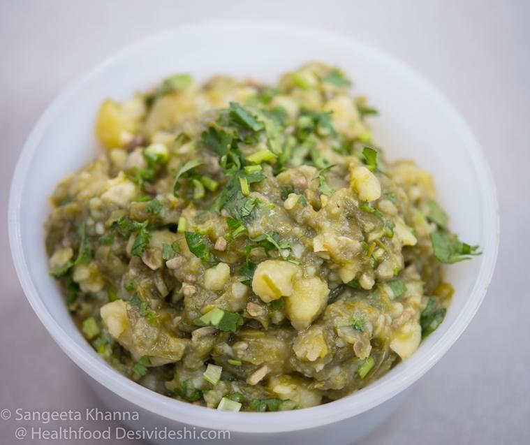 Tripura fish salad