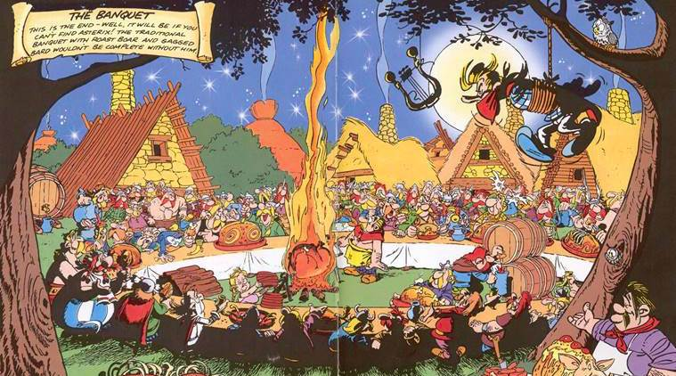 How Asterix and Tintin whetted our appetite for roast wild boar  and 'Szlaszeck with mushrooms'