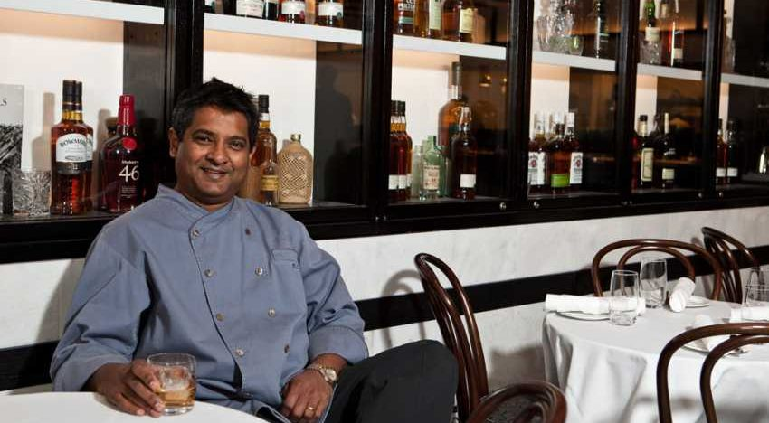 Floyd Cardoz and a Paowalla in New York