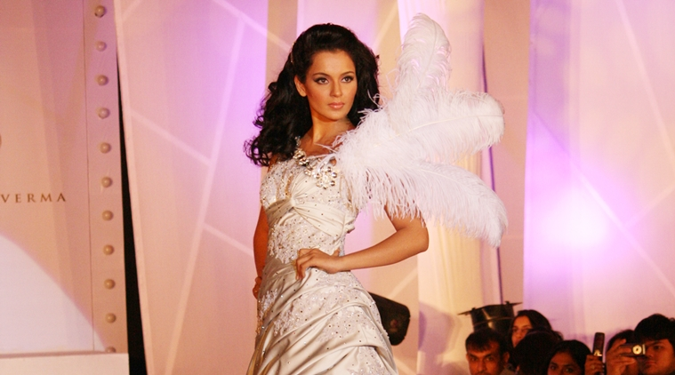 Film Star Kangana Ranaut. Express archive photo.
