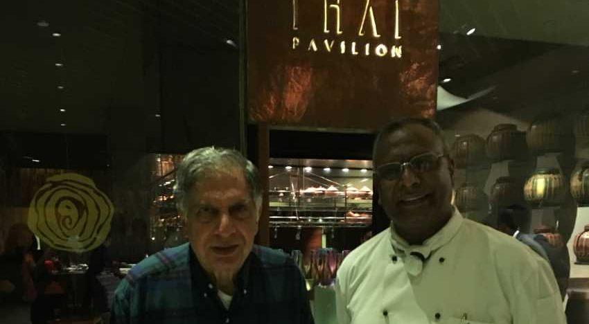 Look who came to bid Chef Ananda Solomongood-bye