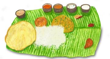 Andhra Thali at Nagarjuna