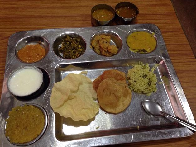 Andhra Bhawan - Pic courtesy Chinmay Dhondrikar (Zomato)