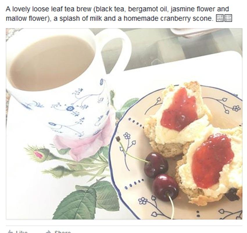Frederikke Marie Pflug tea