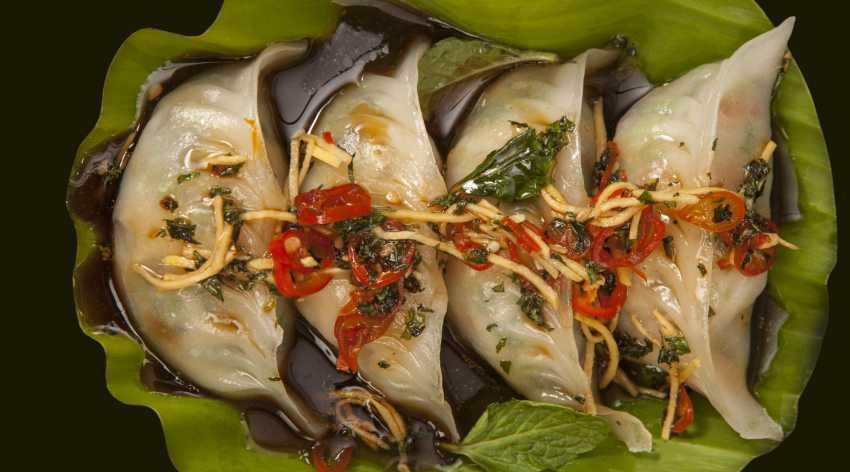 Jungle Shrimp Dumpling
