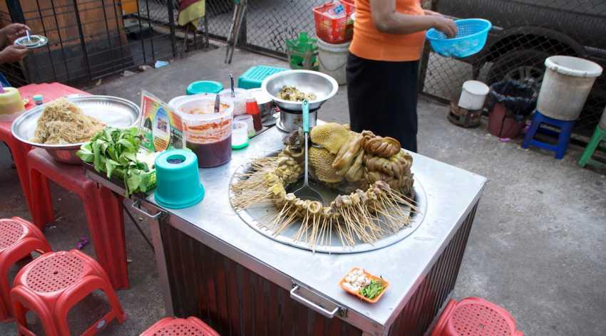 Pork hot pot - Most popular street food