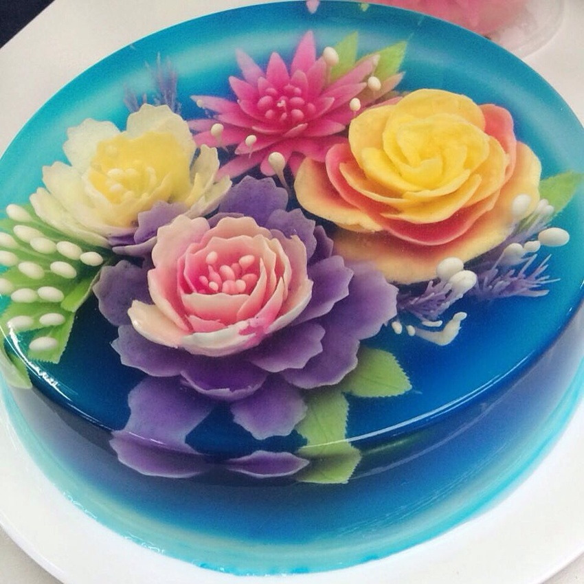 Have You Tried These Fancy 3d Jelly Cakes Yet