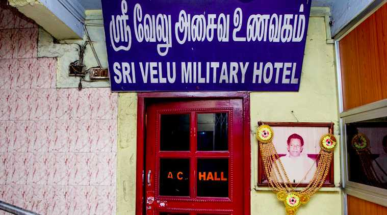 Chennai's disappearing military hotels