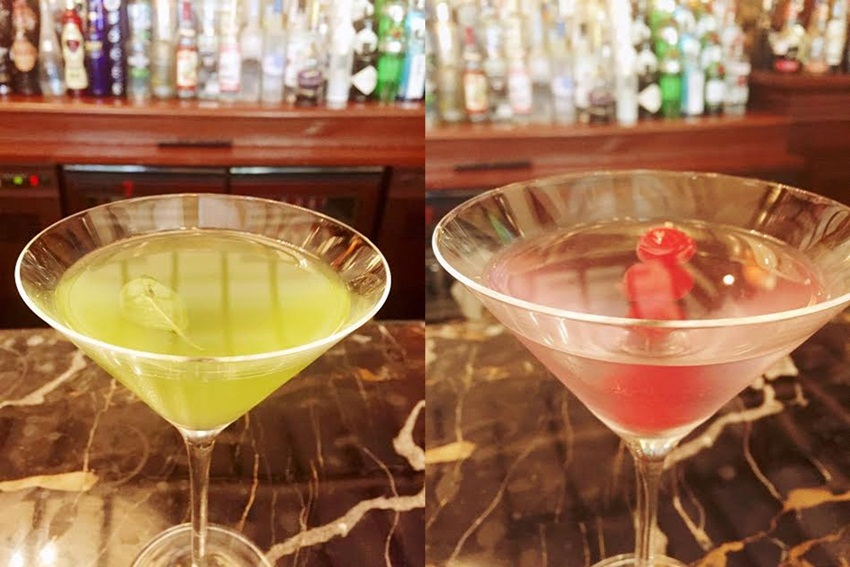 Flavoured martinis