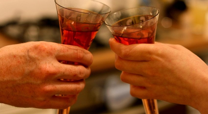 Couples who drink together stay together, says study