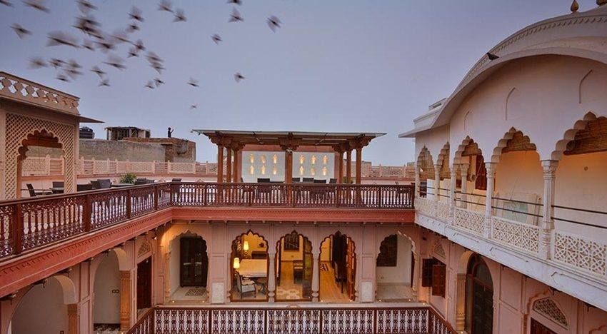 Eat at over a 100-year-old haveli in Old Delhi