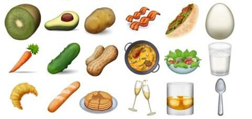 There's bacon in the list of new emojis
