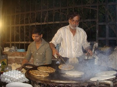 3 Paratha making assistant throw