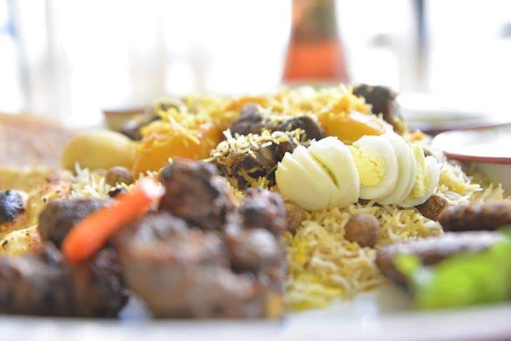 AminiA mutton special biryani