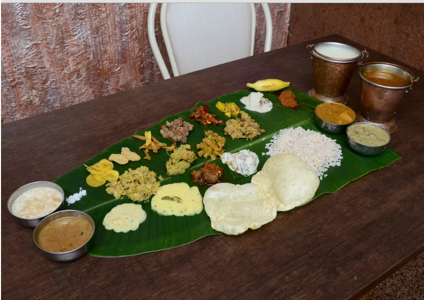 Just Kerala Sadhya, Source Zomato, Just Kerala