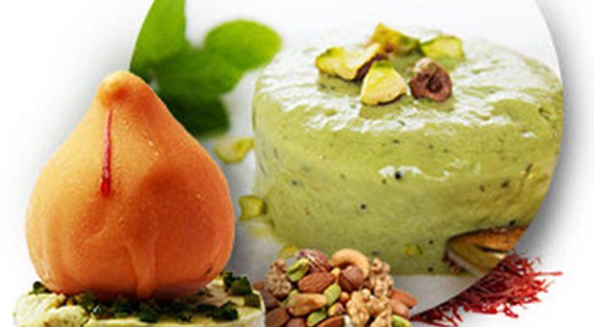 Ice cream modaks in Mumbai and brownie modaks inChennai