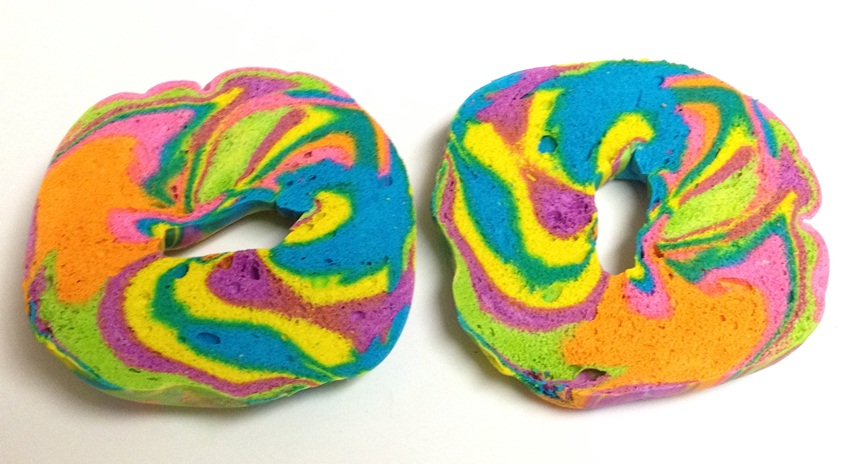 rainbow bagel - heath-bar - flickr
