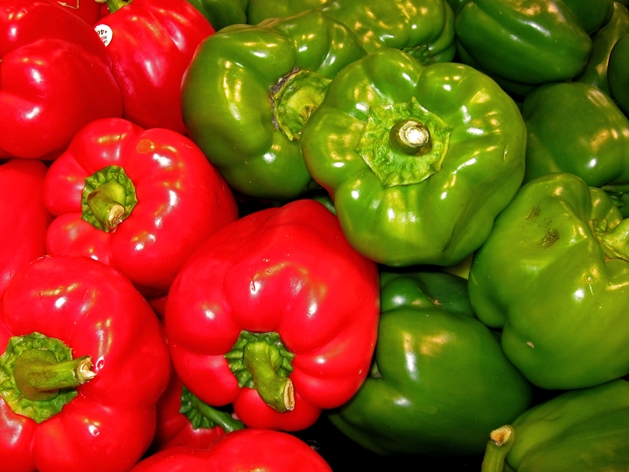 Bell peppers - I am I.A.M.