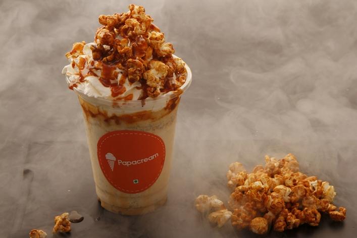 Butter Popcorn Milkshake