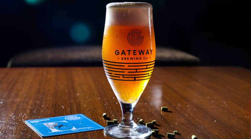 Oktoberfest Beer by Gateway Brewing Company - 01