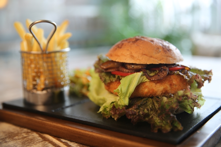 Sinhalese mix Veggie Burger_Fable