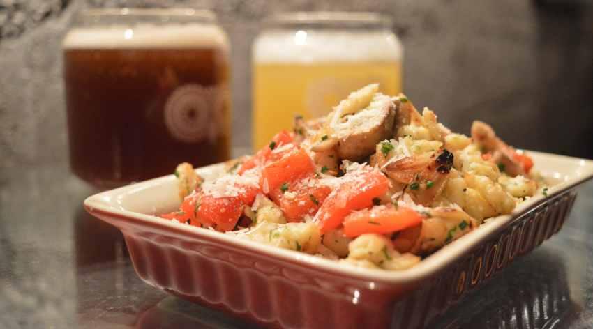 Spaetzel & Sauteed Mushroom 1