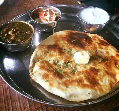 Brother's dhaba - Amritsari Kulcha