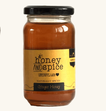 Honey and spice - ginger honey