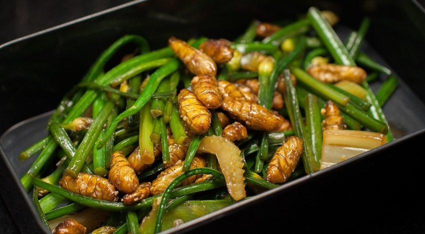 Food trends: Bug snacks and vegetableyoghurt