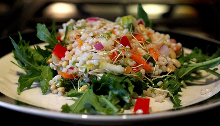 sprouts salad - Bob Rudis - Flickr