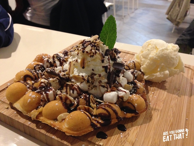 Bubble waffle - are you gonna eat that, Flickr