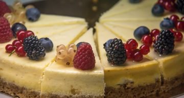 Cheesecakes so pretty, you'll want to make one rightaway