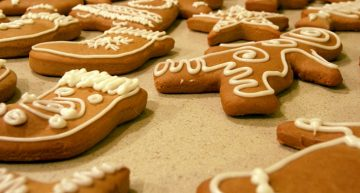 Recipe: Whole-wheat gingerbread cookies