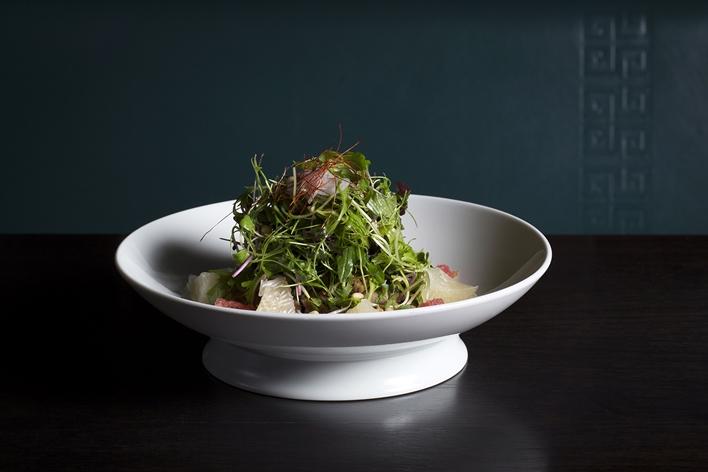 Hakkasan brunch - Crispy duck salad 3