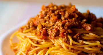 Recipe: No-meat pastaragù