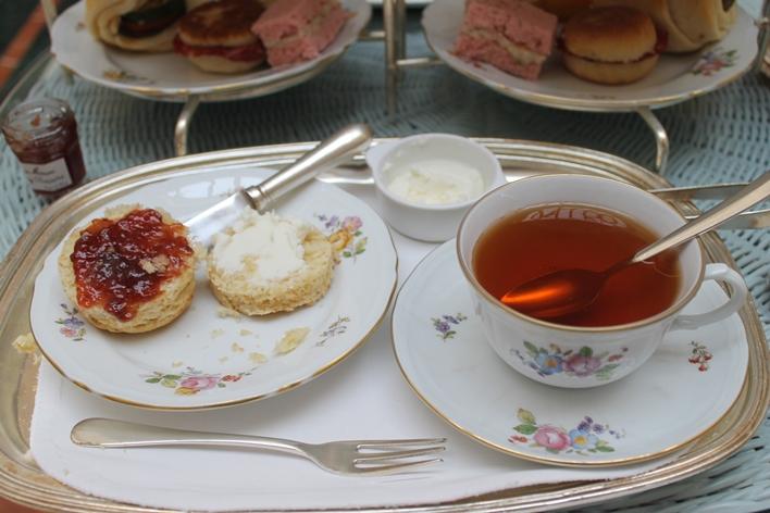 Scones and tea- Connie Ma