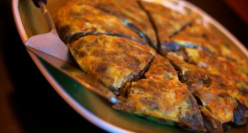 Recipe: Spanish omelette with chorizo