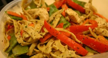 Recipe: Thai noodle salad