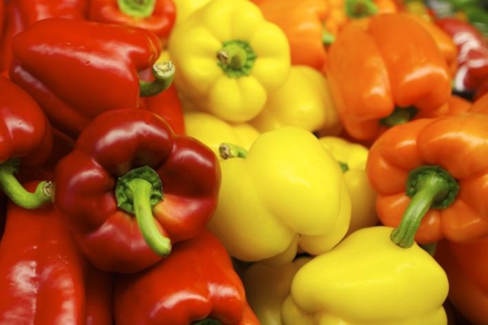 bell peppers - Austin Kirk