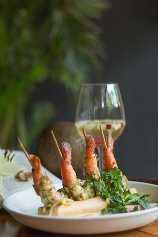 Fio Cookhouse - Lemon Cilantro Prawns