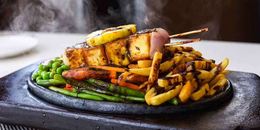 Penthouzz Sizzler Festival 3 - paneer bbq sizzler