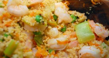 Recipe: Prawns and couscous salad