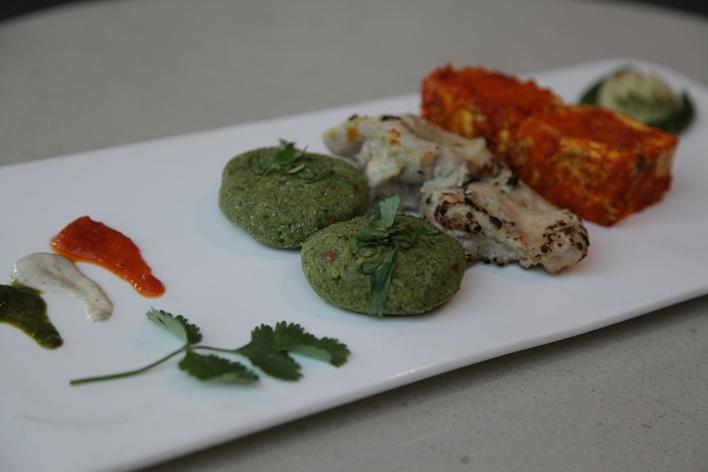 Tiranga kebab platter Vivanta by Taj, Gurgaon