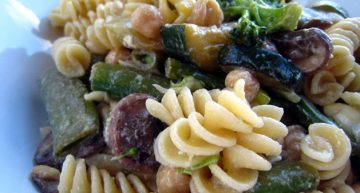 Recipe: Broccoli bacon and pasta salad