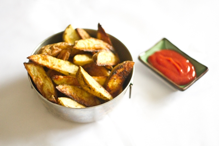 Potato wedges - J. Annie Wang, Flickr